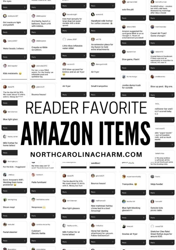 Five on Friday: Reader Amazon Favorites