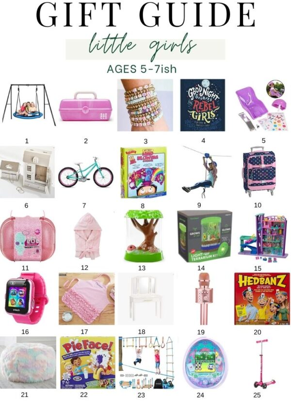 Gift Guide for Kids (Boys, Girls & Experience Gifts)