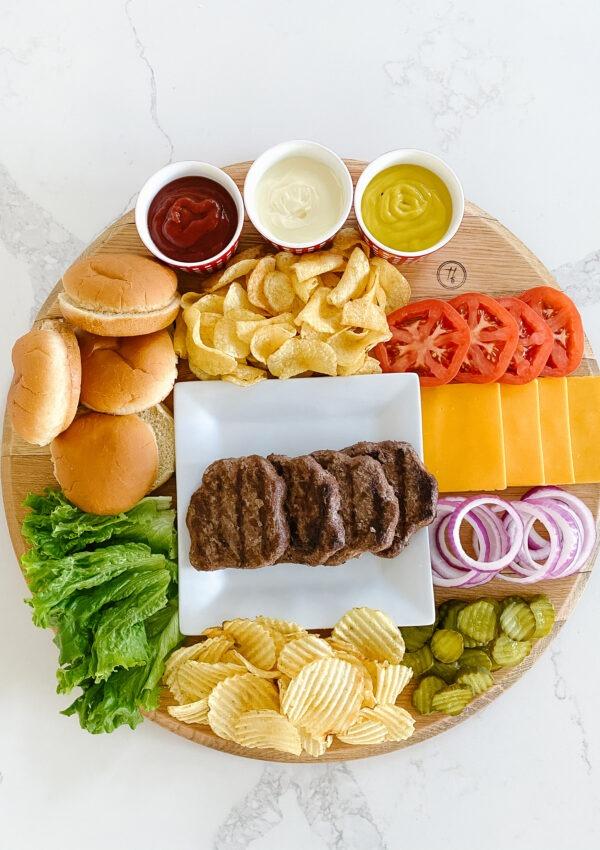 BYO Burger Board