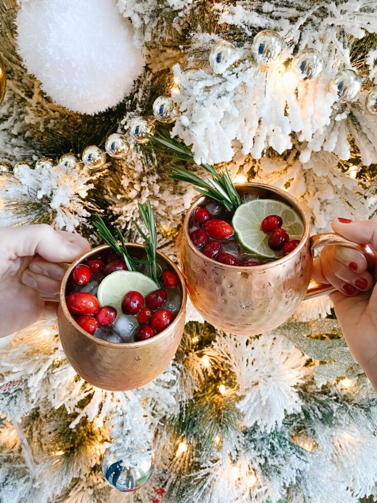 Christmas Mules