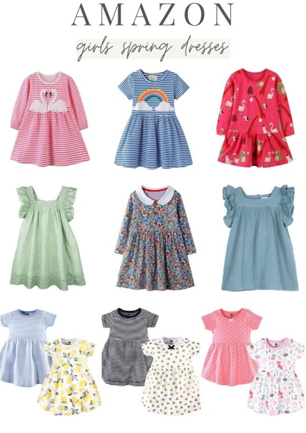 Favorite Amazon Girls Spring Dresses