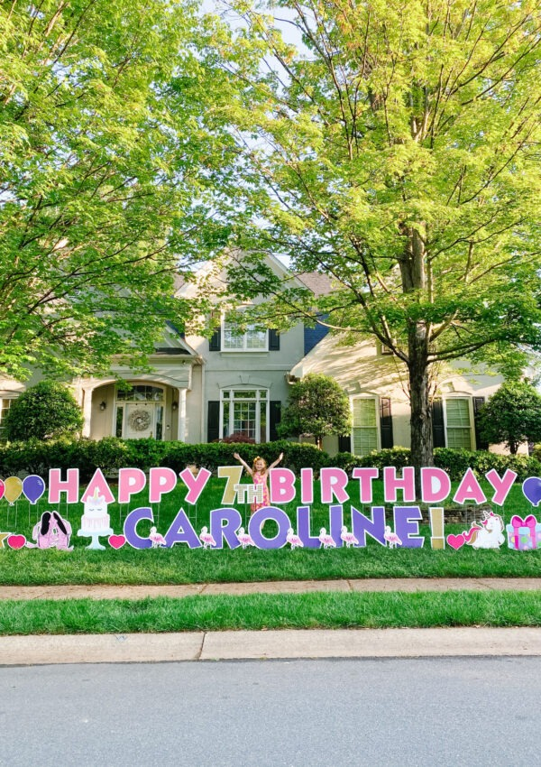 Caroline's 7th Unicorn Birthday Party (On A Bus)!