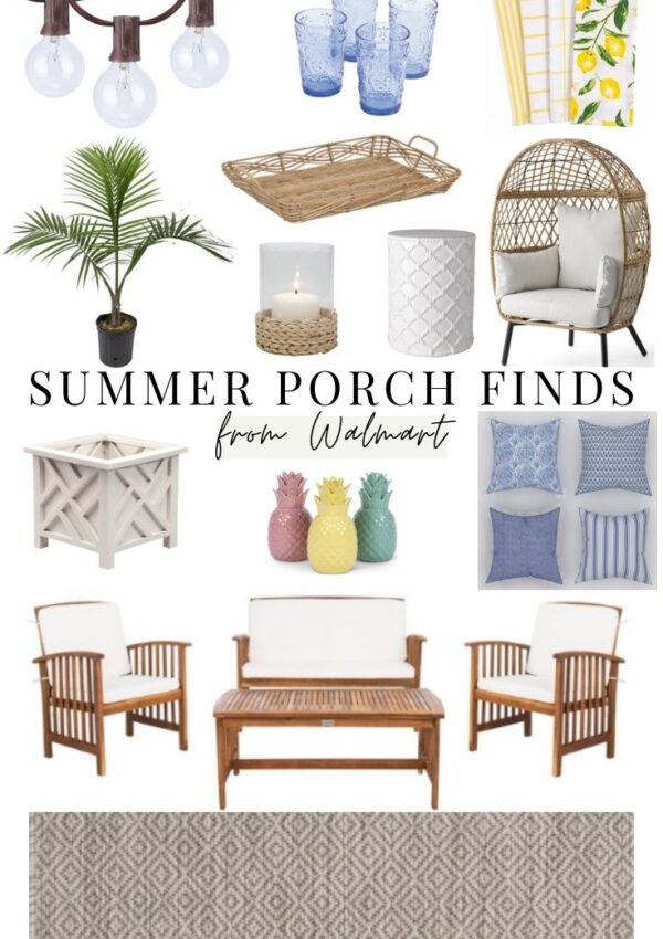 Summer Porch & Patio Finds from Walmart