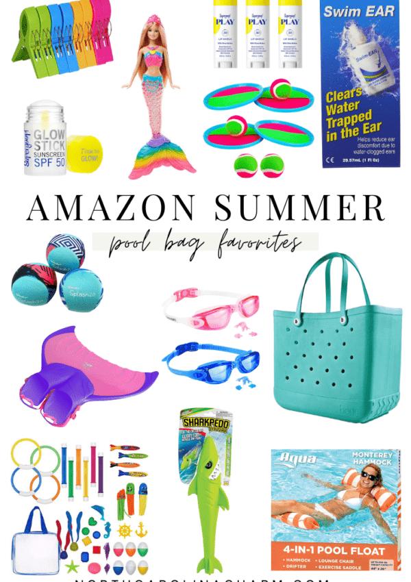 Amazon Pool Bag Favorites