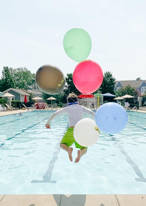 Thomas's 6th Birthday Ninja Pool Party!