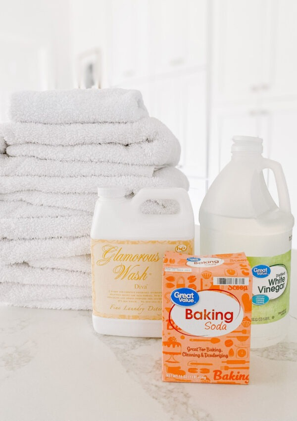 How I Deep Clean Our Towels (Easy Laundry Stripping Hack)