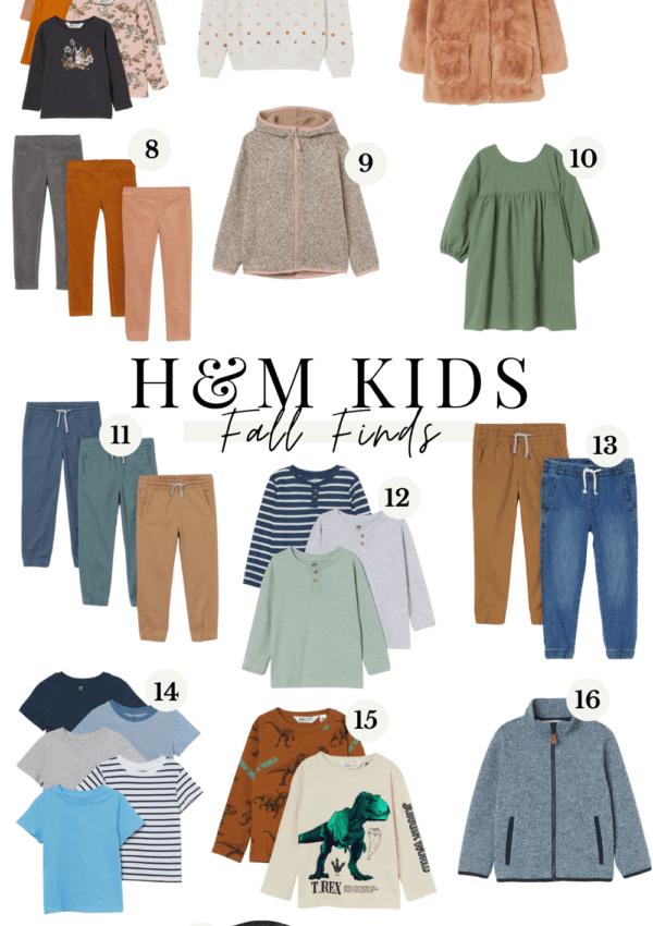 H&M Kids Fall Finds