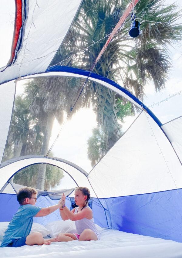 Edisto Island Family Tent Camping
